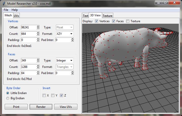 3D Model Researcher - Руководство